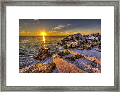 Healing Power Framed Print by Marvin Spates