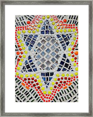 Healing Star Framed Print by Lisa Brandel