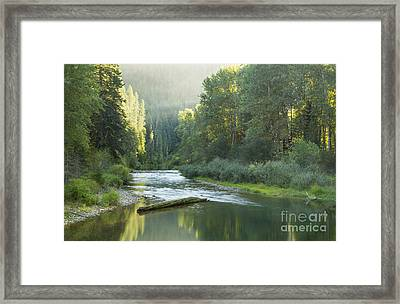 Healing Waters Framed Print by Idaho Scenic Images Linda Lantzy