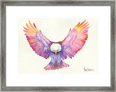 Healing Wings Framed Print by Cindy Elsharouni