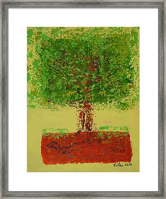 Healthy Belief Framed Print by William Killen