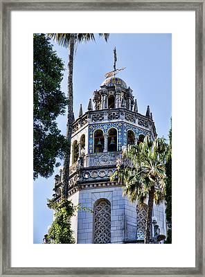 Hearst Castle Tower - California Framed Print by Jon Berghoff