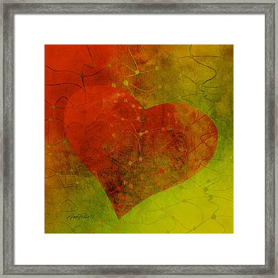 Heart Connections Three Framed Print by Ann Powell