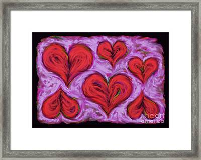 Heart Drift Framed Print by Keith Mills