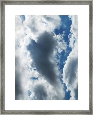 Heart I Framed Print by Anna Villarreal Garbis
