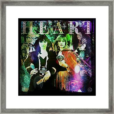 Heart Little Queen - Cover Art Design Framed Print by Absinthe Art By Michelle LeAnn Scott