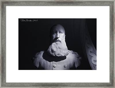 Heart Of Darkness Framed Print by Gate Gustafson