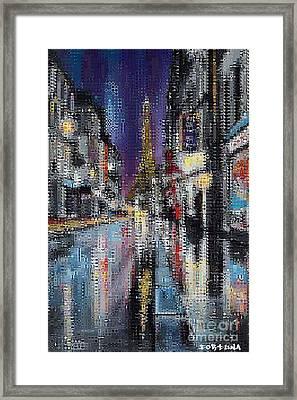 Heart Of Paris Framed Print by Dragica  Micki Fortuna