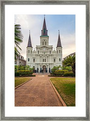 Heart Of The French Quarter Framed Print by Steve Harrington
