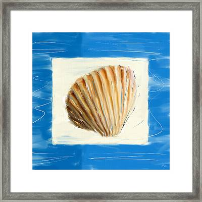 Heart Of The Sea Framed Print by Lourry Legarde