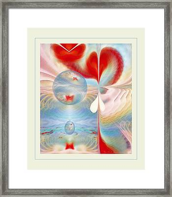 Heartbeat Framed Print by Gayle Odsather