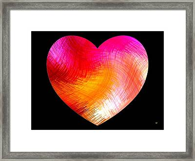 Heartline 6 Framed Print by Will Borden