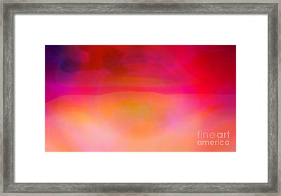 Heat Framed Print by Pauli Hyvonen