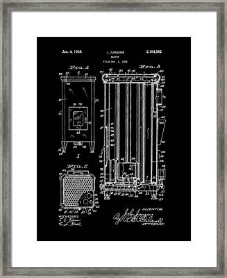 Heater Framed Print by Dan Sproul