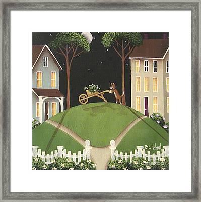Heather Glen Framed Print by Catherine Holman