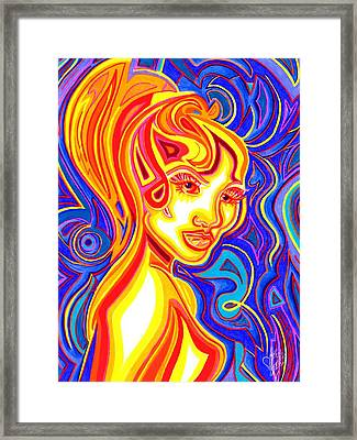 Heatwave Framed Print by Danielle R T Haney