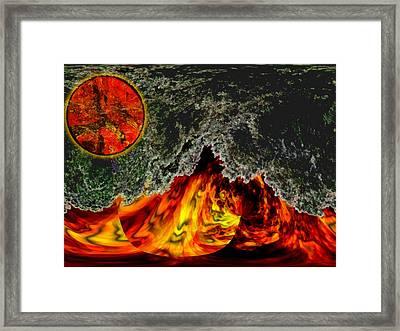 Heatwave Framed Print by Wendy J St Christopher
