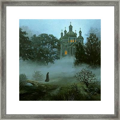 Heaven And Earth Framed Print by Bruno Capolongo