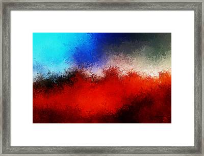Heaven And Earth Framed Print by M Hammami