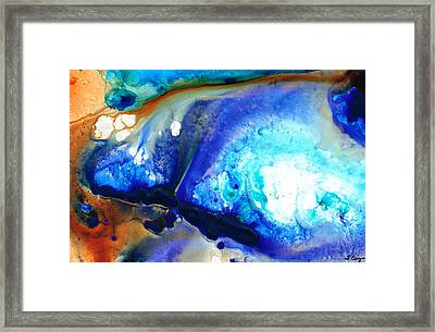Heaven And Earth Framed Print by Sharon Cummings