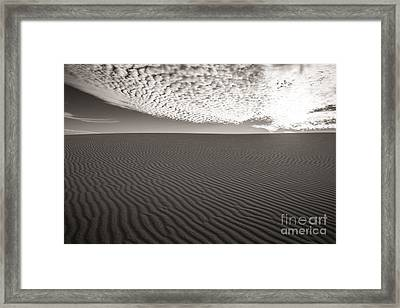 Heaven And Earth Framed Print by Sherry Davis