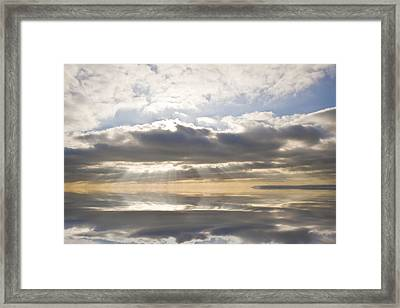 Heaven Framed Print by Matthew Gibson