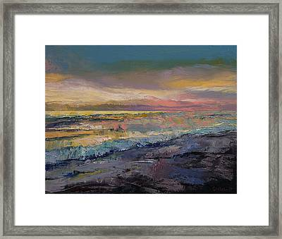 Heaven Framed Print by Michael Creese