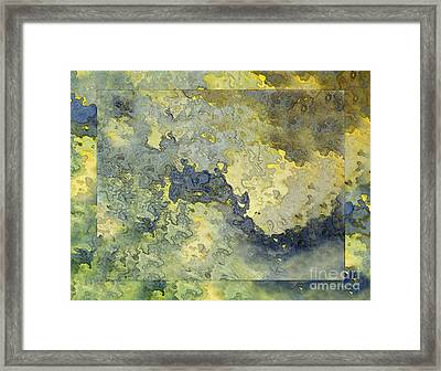 Heavenly Clouds Abstract Framed Print by Debbie Portwood