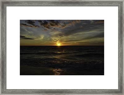 Heavenly Palette Framed Print by Debra Bowers