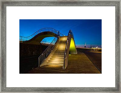 Heavenly Stairs Framed Print by Chad Dutson