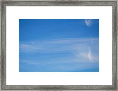 Heavens Brush Framed Print by Stanislav Killer