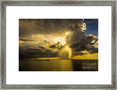 Heavens Window Framed Print by Marvin Spates