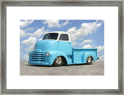 Heavy Duty Chevy Truck Framed Print by Mike McGlothlen