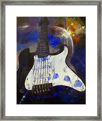 Heavy Metal Framed Print by Michael Creese