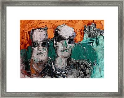 Heavys 2 Framed Print by Jim Vance