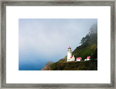 Heceta Head Lighthouse Framed Print by Randall Branham