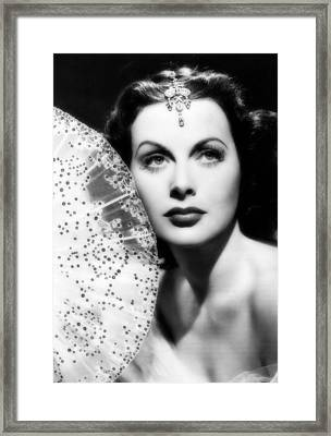 Hedy Lamarr Framed Print by Mountain Dreams