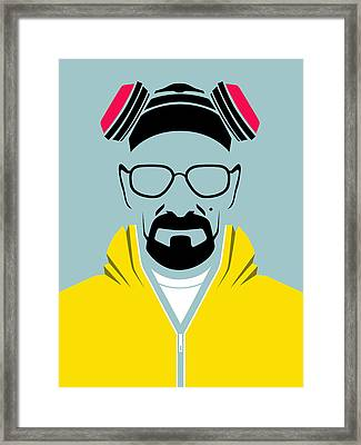 Heisenberg Poster Framed Print by Naxart Studio