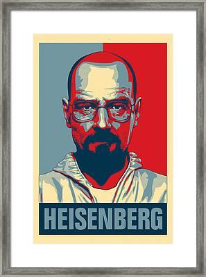 Heisenberg Framed Print by Taylan Soyturk