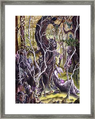 Heist Of The Wizard's Staff Framed Print by Curtiss Shaffer