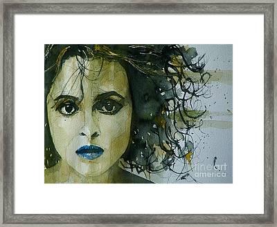 Helena Bonham Carter Framed Print by Paul Lovering