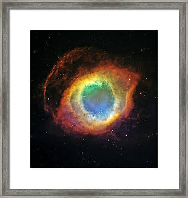 Helix Nebula 2 Framed Print by The  Vault - Jennifer Rondinelli Reilly