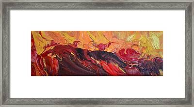 Hell-bent Framed Print by Donna Blackhall