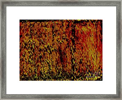 Hell Framed Print by J Burns