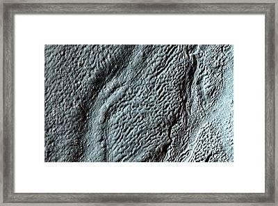 Hellas Crater Framed Print by Nasa/jpl-caltech/univ. Of Arizona