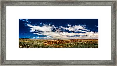 Hellhole Bend Framed Print by Chris Bordeleau
