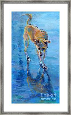 Hello Gorgeous Framed Print by Kimberly Santini