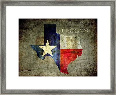 Hello Texas Framed Print by Daniel Hagerman