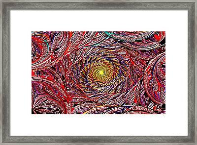 Hellooooo-oooo-ooo-oo-o Framed Print by Janet Russell