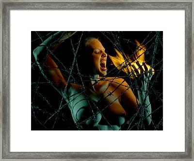Hellraiser Framed Print by Adam Chilson